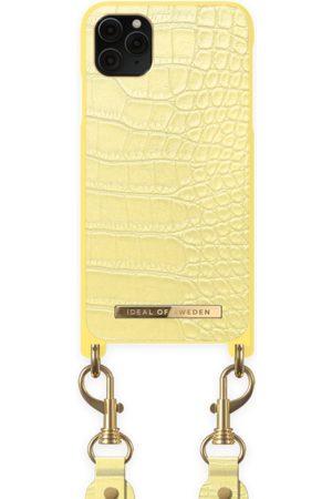 Ideal of sweden Necklace Case Montazami iPhone 11 PRO MAX Lemon Croco