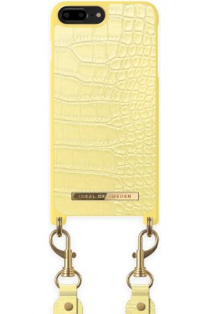 Ideal of sweden Necklace Case Montazami iPhone 8 P Lemon Croco