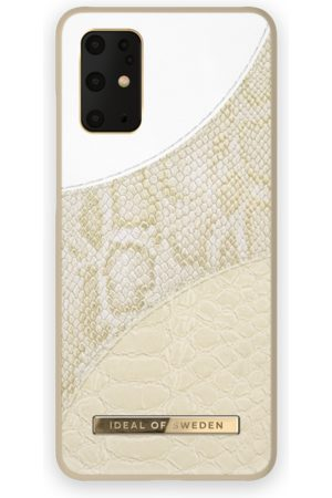 Ideal of sweden Atelier Case Galaxy S20 Plus Cream Gold Snake