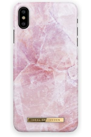Ideal of sweden Women Phone Cases - Fashion Case iPhone X Pilion Pink Marble