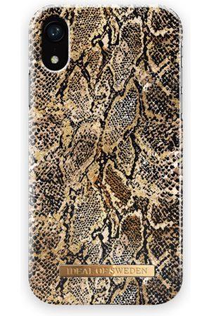 Ideal of sweden Fashion Case iPhone XR Golden Gecko