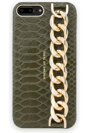 Ideal of sweden Statement Case iPhone 8 PLUS Green Snake - Chain Handle