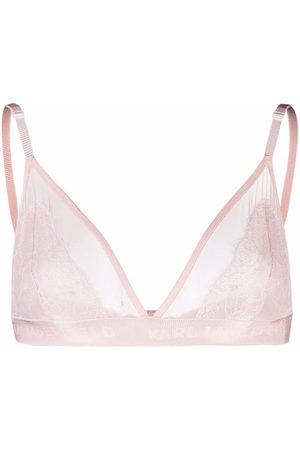 Karl Lagerfeld Women Bralette - Lace triangle bra