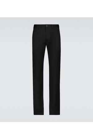 Saint Laurent Men Chinos - Stretch-cotton gabardine chino pants