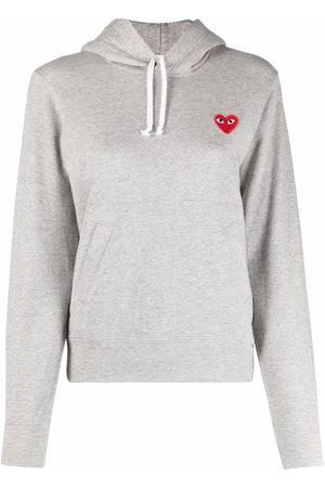 Comme des Garçons Patch-detail hoodie