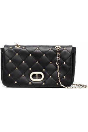 DEE OCLEPPO Women Shoulder Bags - Stud-embellished quilted leather shoulder bag