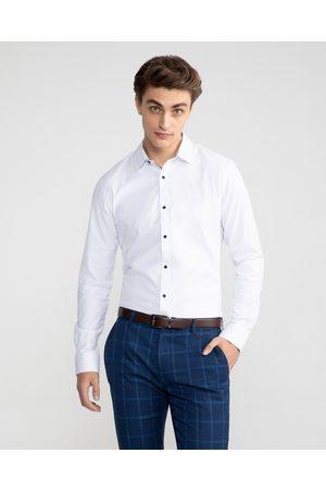 Yd. Men Business - Heart Textured Slim Shirt - Shirts & Polos Heart Textured Slim Shirt