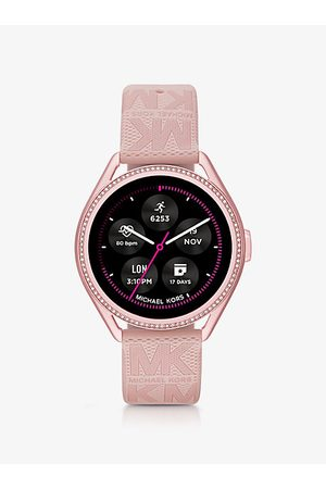 Michael Kors Watches - Gen 5E MKGO -Tone and Logo Rubber Smartwatch