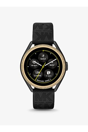 Michael Kors Watches - Access Gen 5E MKGO Two-Tone and Logo Rubber Smartwatch