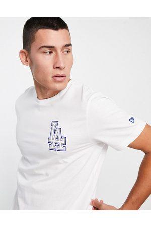 New Era Men Short Sleeve - LA Dodgers chain stitch logo t-shirt in