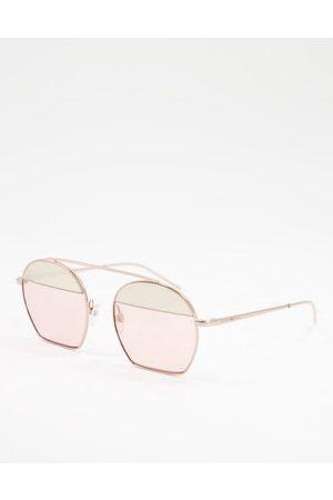 Emporio Armani Women Sunglasses - Colour block lens sunglasses