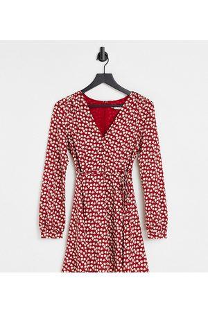 Glamorous Women Dresses - Tie-waist swing dress in