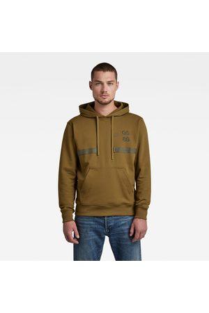 G-Star Men Sweaters - Back Tape Hooded Sweater