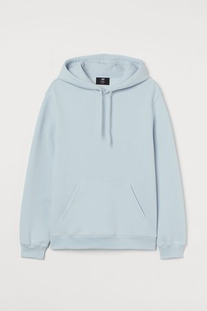H&M Relaxed Fit Hoodie - Turquoise