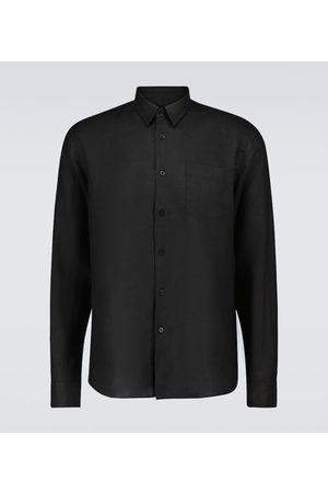 Vilebrequin Men Long sleeves - Caroubis linen shirt