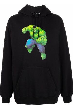 Balenciaga Hulk-print hoodie