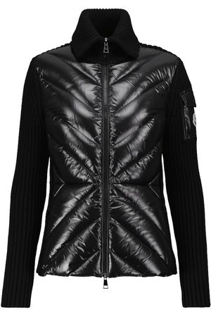 Moncler Women Jackets - Wool and down jacket