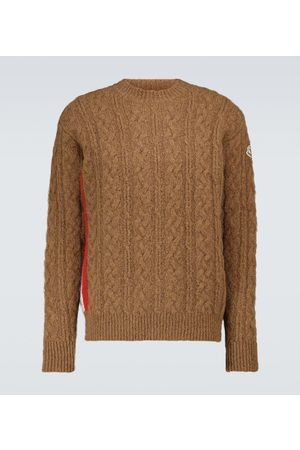 Moncler Alpaca and wool-blend sweater