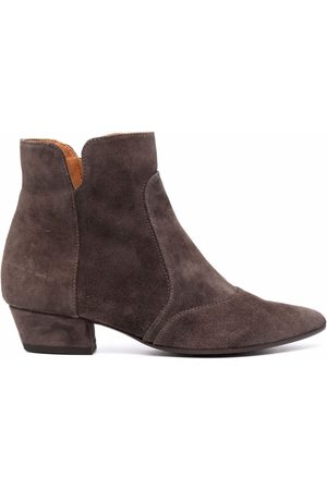 Chie Mihara Rocel suede Western-style boots