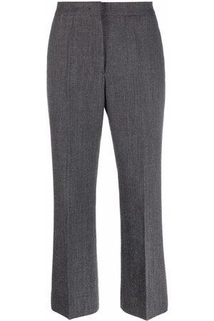 Jil Sander Women Wide Leg Pants - Flared cropped trousers