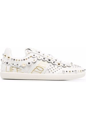 Tod's Stud-embellished leather sneakers