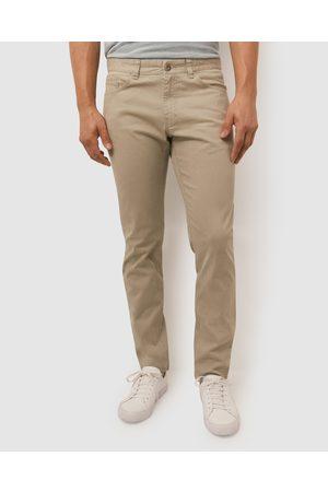 Sportscraft Vintage Tapered Bedford Pants - Pants (Ecru) Vintage Tapered Bedford Pants