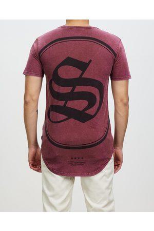 Silent Theory Men Tank Tops - Express Tee - T-Shirts & Singlets (Dusty Burgundy) Express Tee