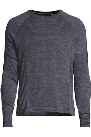 alo Men Long Sleeve - Amplify Seamless Long-Sleeve T-Shirt