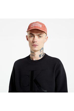 Calvin Klein Men Sweatshirts - Leather Monogram Crew Neck