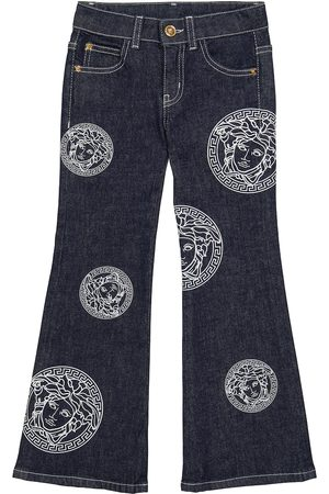 VERSACE Women Bootcut & Flares - Medusa Amplified flared jeans