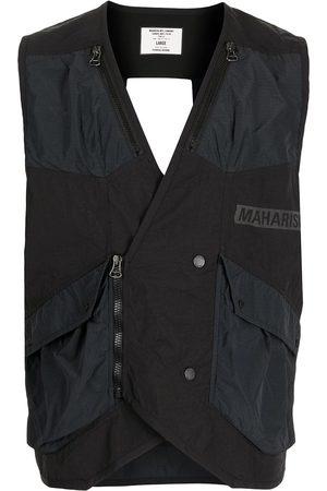 Maharishi Men Gilets - Logo zipped vest gilet