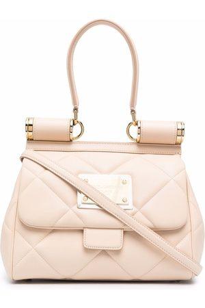 Dolce & Gabbana Women Shoulder Bags - Sicily 90s medium leather shoulder bag