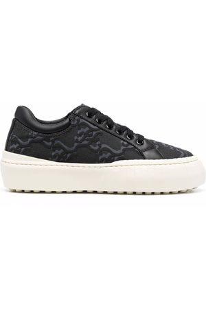 Fendi FF Karligraphy low-top sneakers