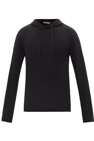 The Row Chris Knitted Hooded Sweatshirt - Mens