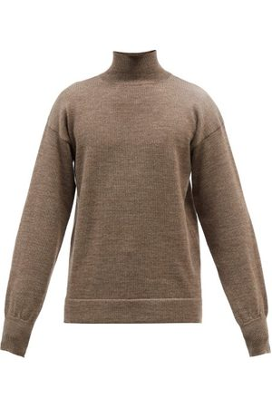 Bourrienne Paris X Nocturne Square-bib Cotton-poplin Shirt - Mens