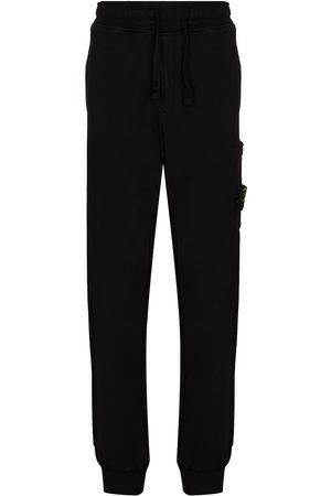 Stone Island Men Joggers - Cotton-fleece sweatpants