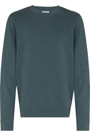Sunspel Men Sweatshirts - Crew-neck cotton sweatshirt