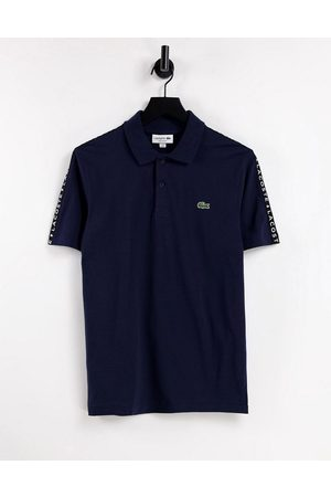 Lacoste Men Polo Shirts - Taped sleeve polo in