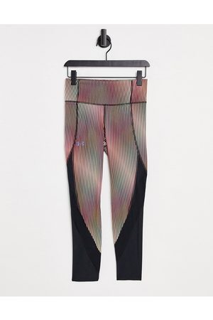 Under Armour Running Fly Fast ankle leggings in black and print