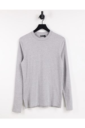 ASOS Long-sleeved muscle fit T-shirt in