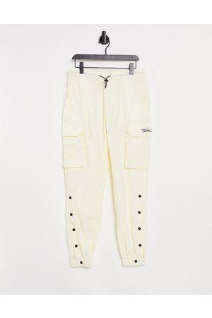 Topman Men Cargo Pants - Signature cargo pants in off white