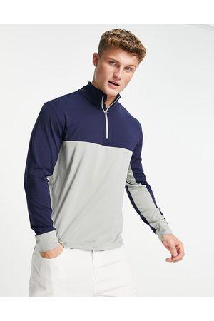 Polo Ralph Lauren Men Sweatshirts - Golf colour-block half-zip sweatshirt in /grey marle