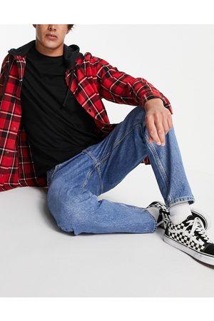 Weekday Men Tapered - Barrel jeans in harper blue