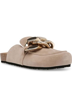 Steve Madden Study clogs with chain in -Neutral