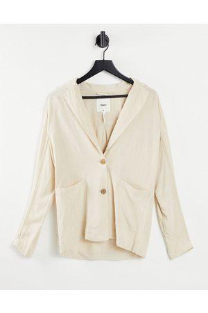 Object Women Blazers - Relaxed blazer in -Neutral