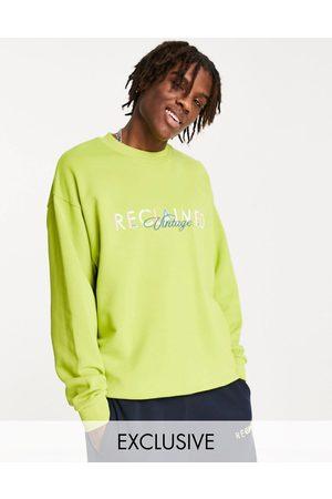 Reclaimed Men Sweaters - Inspired logo sweat