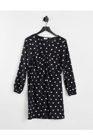 VILA Mini smock dress in