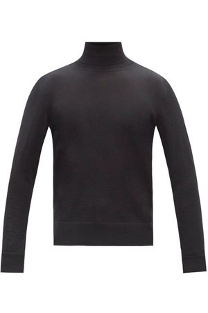The Row Emile Back-stripe Roll-neck Sweater - Mens