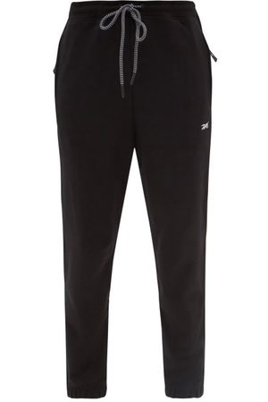 J.W.Anderson Patchwork Cotton Cropped Trousers - Mens