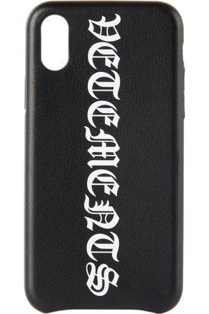 Vetements Phone Cases - Gothic Logo iPhone XS Case